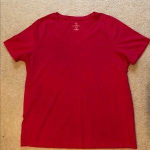 Lands End fuchsia T-shirt